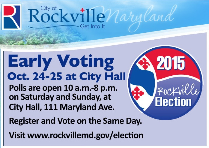 Election Early Voting City Graphic