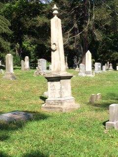Beall Family Tombstone. Photo Credit: Pat Reber