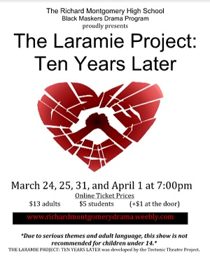 Event Laramie Project 10 Years